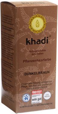khadir tinta vegetale castano scuro