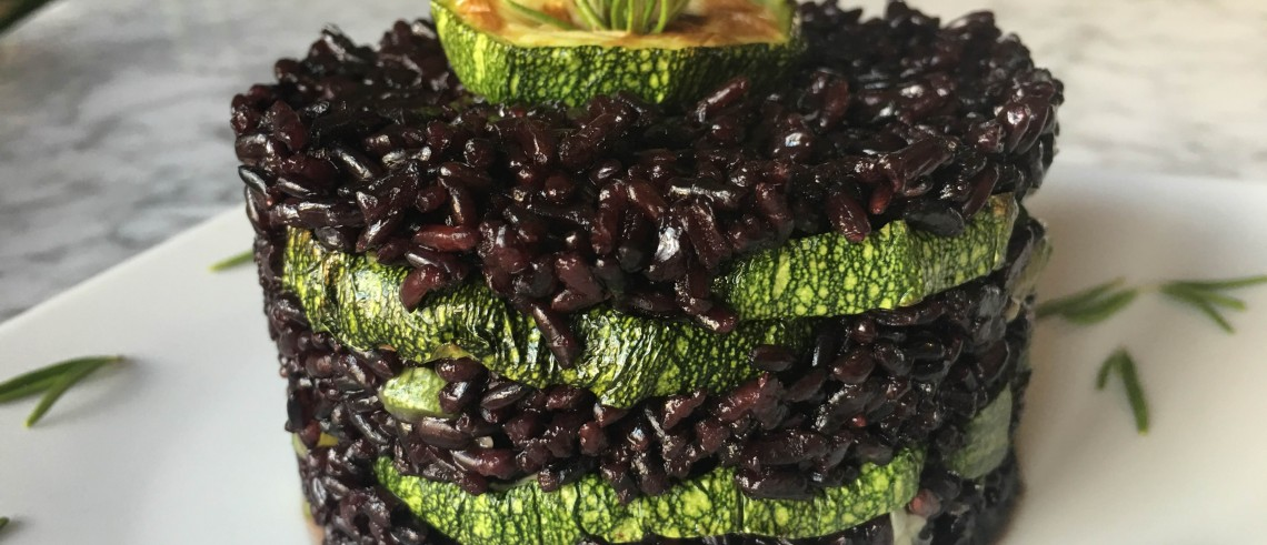 zucchine venere riso